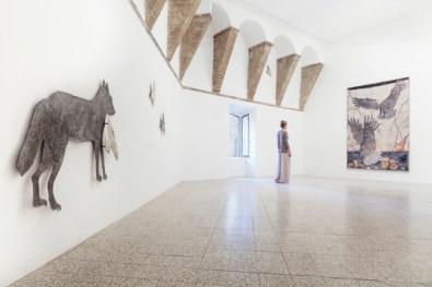Kiki Smith, Path, 2014, Veduta generale della mostra | General exhibition view Courtesy the artist and GALLERIA CONTINUA, San Gimignano / Beijing / Les Moulins Photo by Ela Bialkowska, OKNO STUDIO