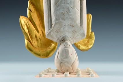 Ivan Lardschneider, My angel, 2014, cm 200, dettaglio