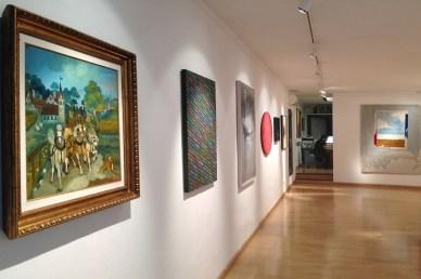 Costruzioni. 25 artisti dagli Anni '50 ai giorni nostri, Galleria Bonioni Arte, Reggio Emilia (veduta dell'allestimento)