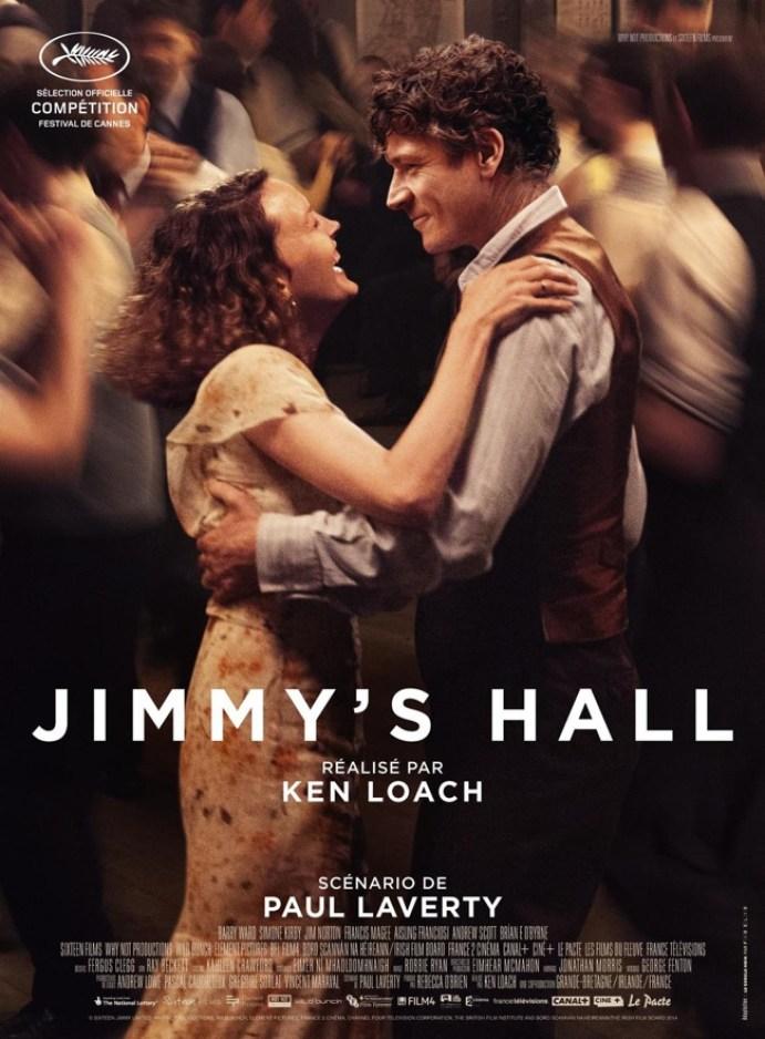 Jimmy's Hall di ken Loach, locandina