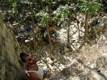 GAP 2011, Nicola Toffolini prepara Offesa della Natura, opera n. 1