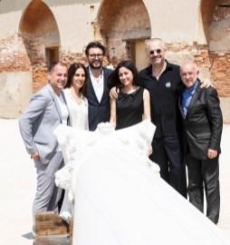 Il Team del Padiglione della Repubblica dell'Albania alla XIV Mostra Internazionale di Architettura