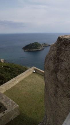 Forte Sella, veduta dalla terrazza
