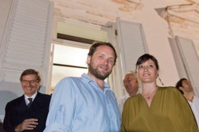 Tomás Saraceno e Ilaria Bonacossa, ph. Nuvola Ravera