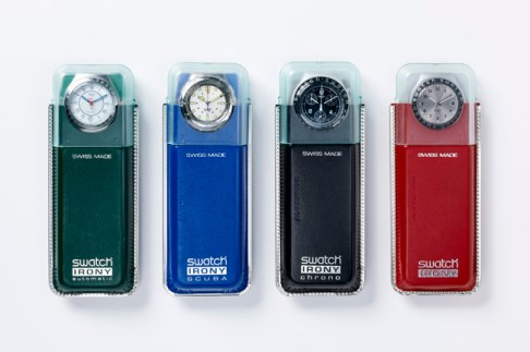 TIME MACHINES: DANIEL WEIL AND THE ART OF DESIGN, Swatch-Irony