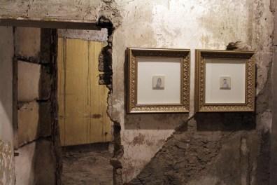 Francesco Rinzivillo,La promessa sposa, tecnica mista su carta e grafite su carta da lucido 2014