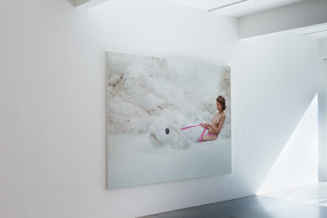 Installation View - Will Cotton, Ronchini Gallery, 25 June - 9 August 2014 (1)