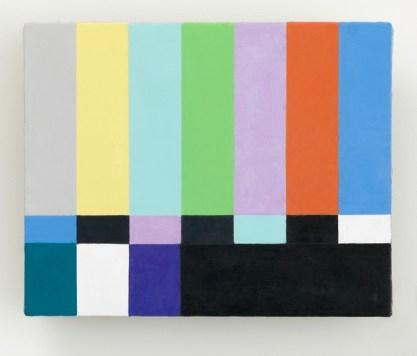 Francis Alÿs, Untitled Studio per Reel-Unreel Olio ed encausto su tela su legno 2011-2012