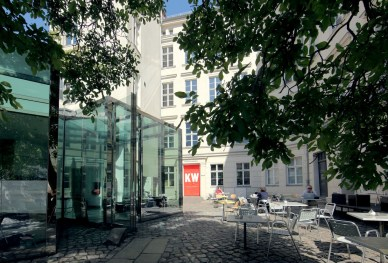 KW Institute for Contemporary Art, Berlin Courtyard Photo Fette Sans, 2011
