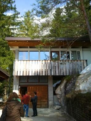 Esplorazioni all'ex Villaggio Eni di Borca, una delle villette di Gellner