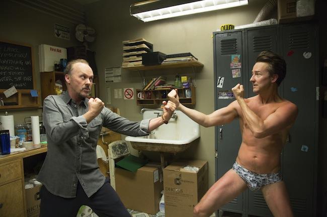 Birdman di Alejandro Inarritu, Michael Keaton ed Edward Norton