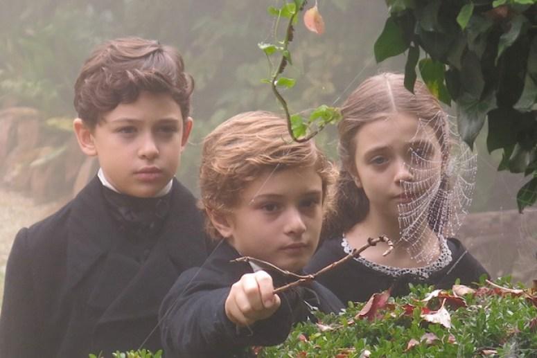 Il giovane favoloso di Mario Martone, nella foto Elia Sampaolesi, Filippo Chierici, Federica Stoppini, foto di Mario Spada