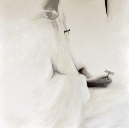 Galleria De' Bonis, Sonia M.L. Possentini, L'innocenza delle cose, olio su tela, cm. 100x100