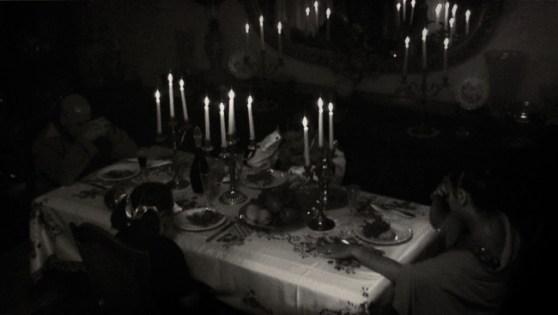 Davide La Rocca, La preghiera della cena,olio su tela,cm180x320,2014