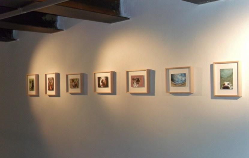 Maurizio Cariati, Texture, veduta dell'allestimento, Loft Gallery