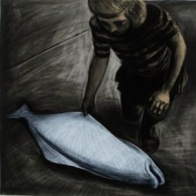 Anke Feuchtenberger, Sketchbook, disegno su carta, cm 30 x 30, da Dice la volpe al corvo, 2013 Courtesy Galleria Il Vicolo