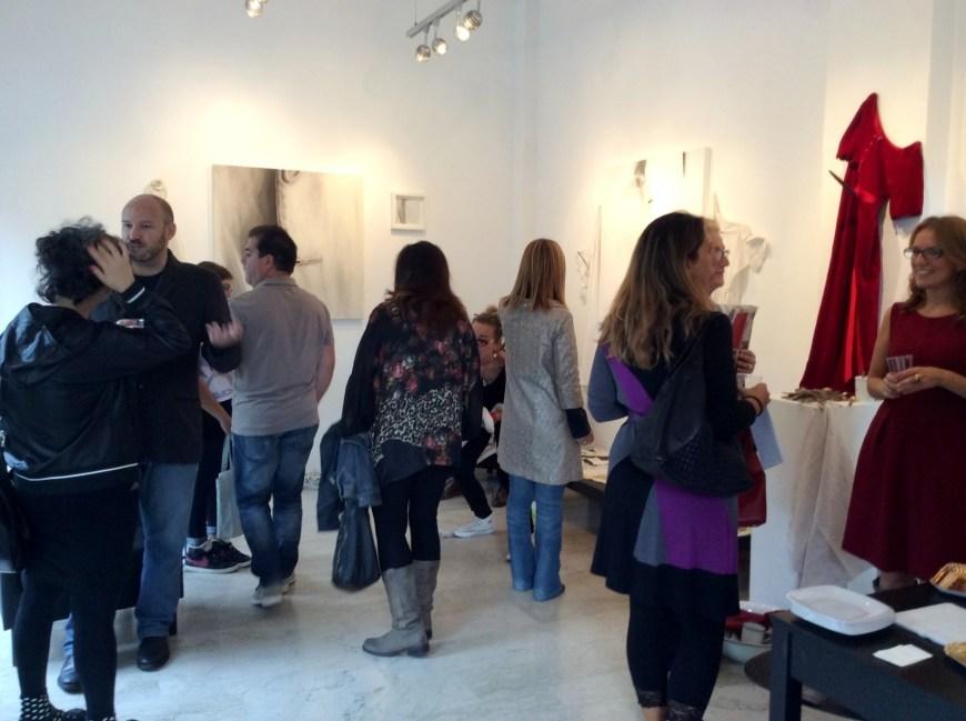 Galleria De' Bonis, veduta degli spazi durante l'opening