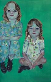 Nicky Hoberman Toffee Treats 1996 olio su tela / oil on canvas 244 x 152 cm Courtesy Collezione Maramotti © the artist