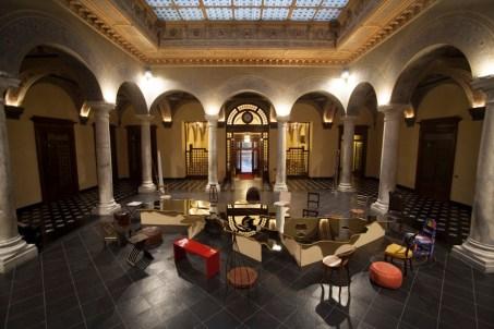 Michelangelo Pistoletto, installazione Love Difference, 2012, Palazzo Della Meridiana, Genova