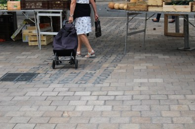 Market zpne, immagini della tappa del progetto a Nizza