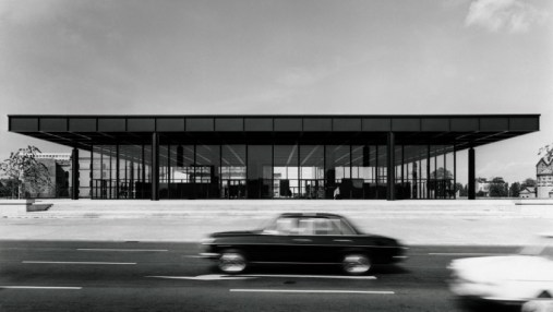 Neue Nationalgalerie, Exterior view, 1968 © Archiv Neue Nationalgalerie, Nationalgalerie, Staatliche Museen zu Berlin, photo: Reinhard Friedrich