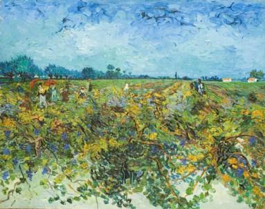 Vincent van Gogh, La vigna verde, 1888, olio su tela, 73.5x92.5, Kröller-Müller Museum, Otterlo © Kröller-Müller Museum, Otterlo
