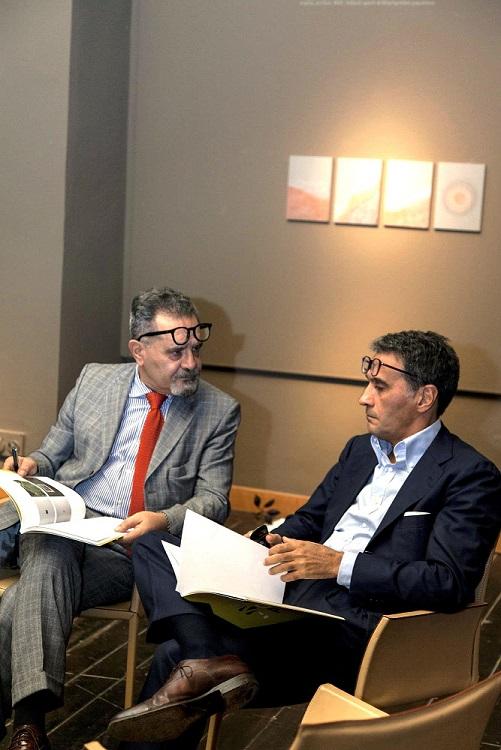 Da sx: i giurati Michele Bonuomo e Giovanni Giuliani, ph. Pitrone, LGT