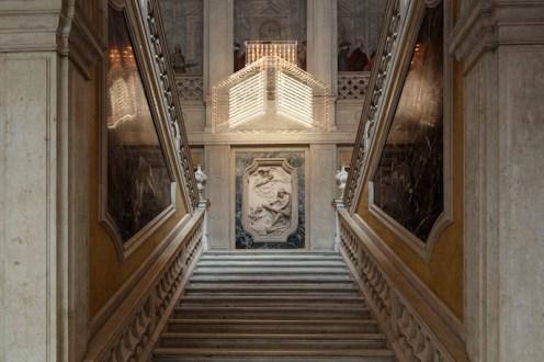 Philippe Parreno, Marquee, 2013, Courtesy the artist and Galerie Esther Schipper, Berlin. Pinault Collection. Installation view at Palazzo Grassi 2014. Ph: © Palazzo Grassi, ORCH orsenigo_chemollo