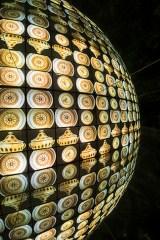 """Quadrisfera realizzata da """"Mizar per la divulgazione scientifica"""" Credito fotografico: Fulvio Rosso"""