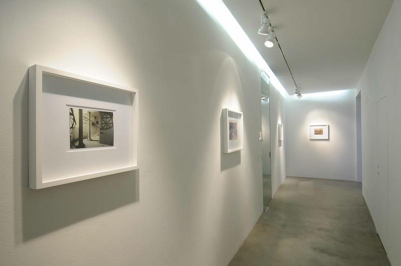Luigi Ghirri, L'immagine Impossibile, veduta dell'allestimento, Galleria Poggiali e Forconi, Firenze