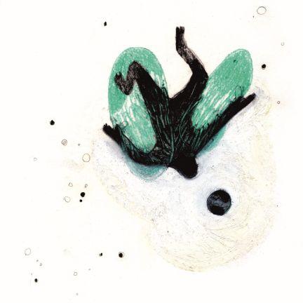 Elisa Muliere, Cado, 2014, serigrafia