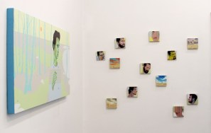 Carlo Alberto Rastelli. Piccole tregende tra amici, 2014, veduta dell'allestimento, Casa Turese Arte Contemporanea, Vitulano (BN)