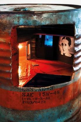 Paola Risoli, TO PINA&WIM, 2012, tecnica mista, Courtesy Gagliardi Art System, Torino