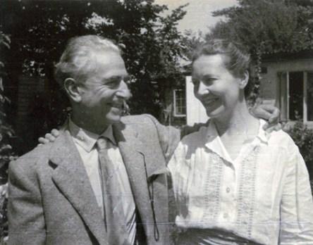 Felice Casorati e Daphne Maugham, Archivio Casorati, Torino (1950 ca.). C'eravamo tanto amati. Le coppie dell'arte nel Novecento, pp. 72, Electa, 2014