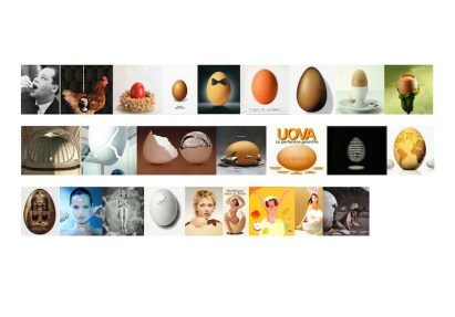 Adriano Altamira, Area di Coincidenza: Uovo-energia, perfezione rigenerazione, 2000 - 2008. Stampa Lambda opera unica nel formato cm 70x100. Courtesy Galleria G7
