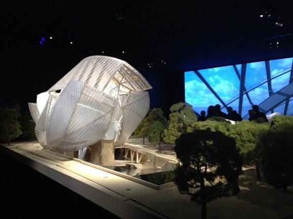 Exposition Frank Gehry - Galerie 4, ph. Valentina Poli