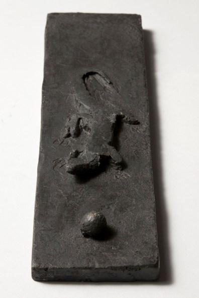 Piero Pizzi Cannella, Lucertola, 2012, bronzo, cm 26x7.5x1 cm