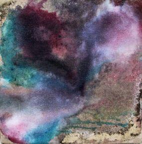 TTOZOI, Sex on canvas#3, muffe e pigmenti naturali su juta Courtesy Raffaella De Chirico - Galleria Arte Contemporanea, Torino
