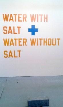 Lawrence Weiner per Galleria Allfonso Artiaco, Napoli