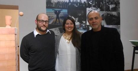 Da sinistra Pasquale Ruocco, Marcella Ferro, Massimo Bignardi