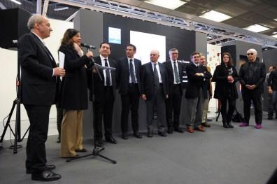 Premiazione Euromobil, Pad 25, 24/01/2015, Arte Fiera 2015, Bologna