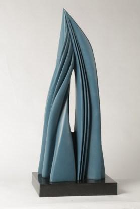 Pablo Atchugarry, 2014, bronzo, 80x32x20 cm
