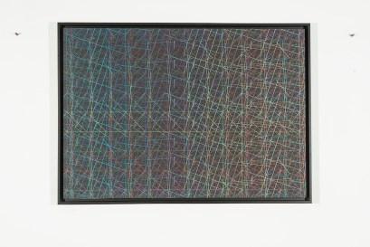 Támas Jovanovics, S.T., 2014, matita su carta applicata su compensato, 70x100 cm