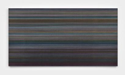 Támas Jovanovics, To J-J Rousseau, 2011, matita e acrilico su compensato, 90x170 cm