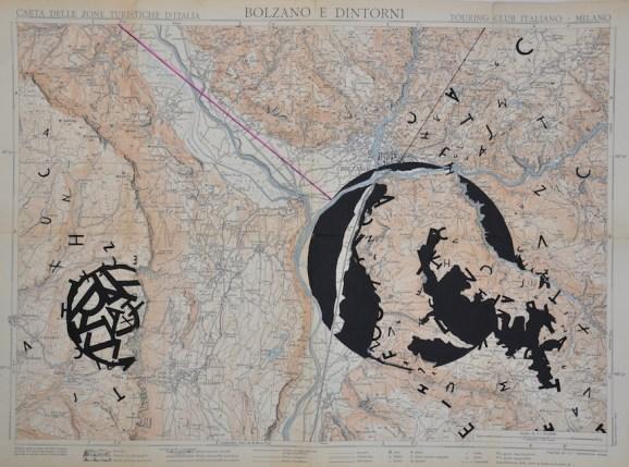 Opiemme, Cartina di Bolzano, 2015, 54x40 cm