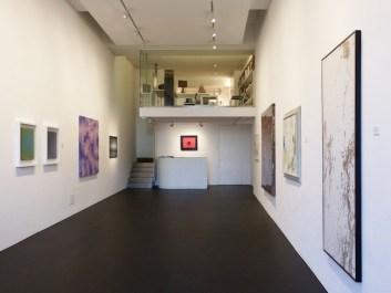 """Veduta della mostra """"In Abstracto"""", Alessandro Casciaro Art Gallery, Bolzano"""