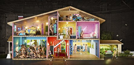David LaChapelle, Self Portrait as a House, 2013 Chromogenic Print © David LaChapelle
