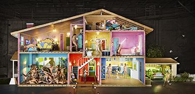 David LaChapelle, Self Portrait as a House, 2013 Chromogenic Print © David LaChapelle