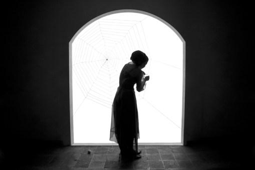 Shadi Ghadirian, Miss Butterfly #6