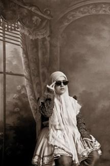 Shadi Ghadirian, Qajar #9